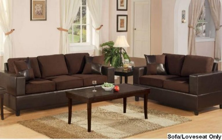 BOBKONA SEATTLE MICROFIBER SOFA AND LOVESEAT REVIEW