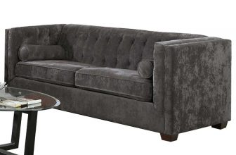 COASTER ALEXIS TRANSITIONAL CHESTERFIELD SOFA